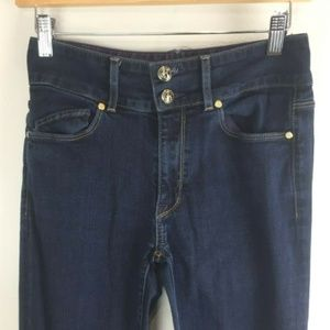Rich & Skinny Jeans Size 27 High Raw Aluminum Dark